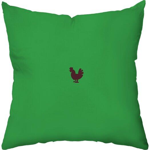 Checkerboard, Ltd Happy Farm Throw Pillow