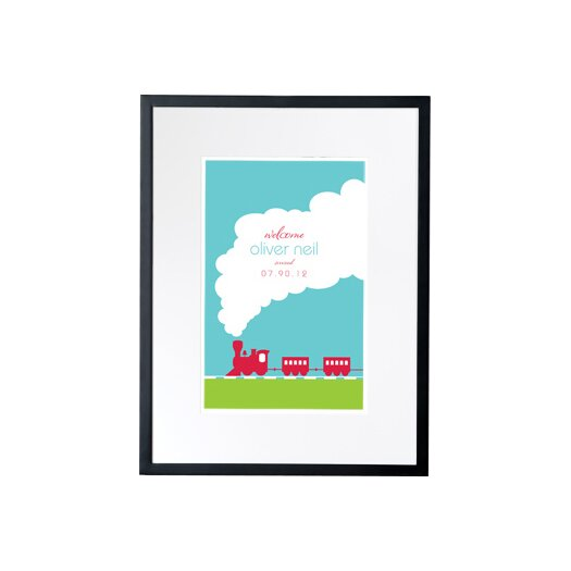 Checkerboard, Ltd Personalized I Think I Can! Framed Art