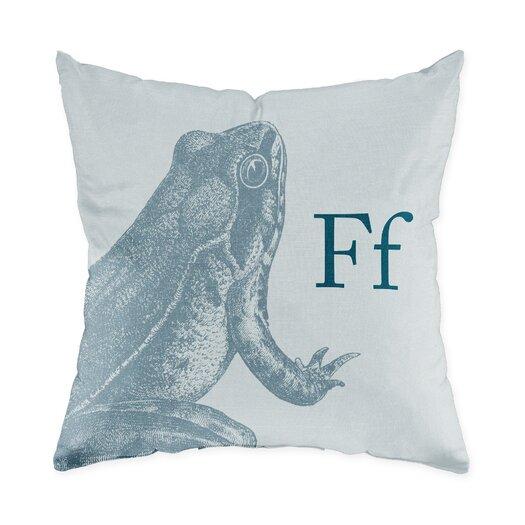 Checkerboard, Ltd Frog Throw Pillow
