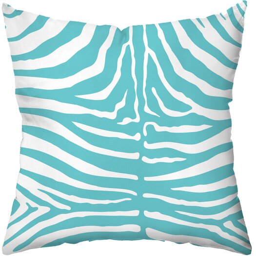 Checkerboard, Ltd Zebra Throw Pillow