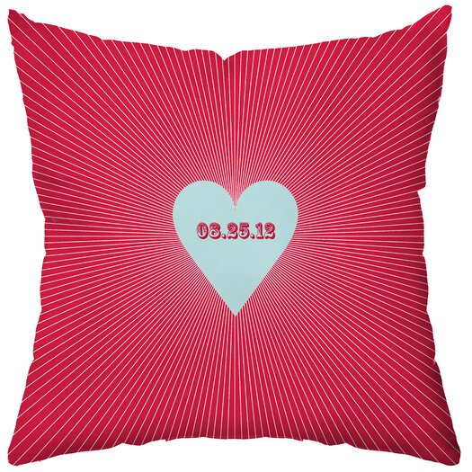 Checkerboard, Ltd Personalized Circa Throw Pillow