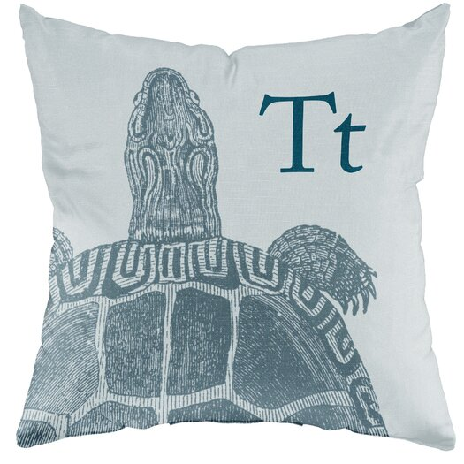 Checkerboard, Ltd Turtle Throw Pillow