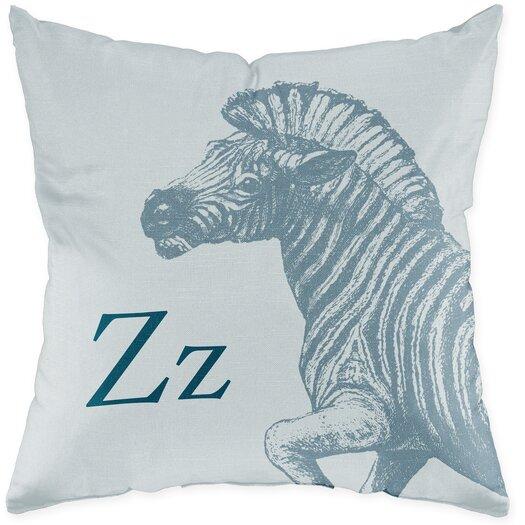 Checkerboard, Ltd Zebra Throw Pillow