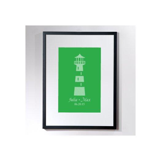 Checkerboard, Ltd Personalized Vast Framed Graphic Art