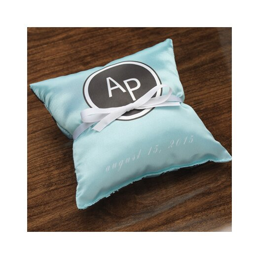 Checkerboard, Ltd Personalized Tangent Ring Satin Throw Pillow