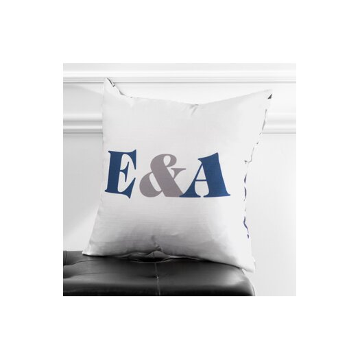 Checkerboard, Ltd Personalized Synergy Throw Pillow