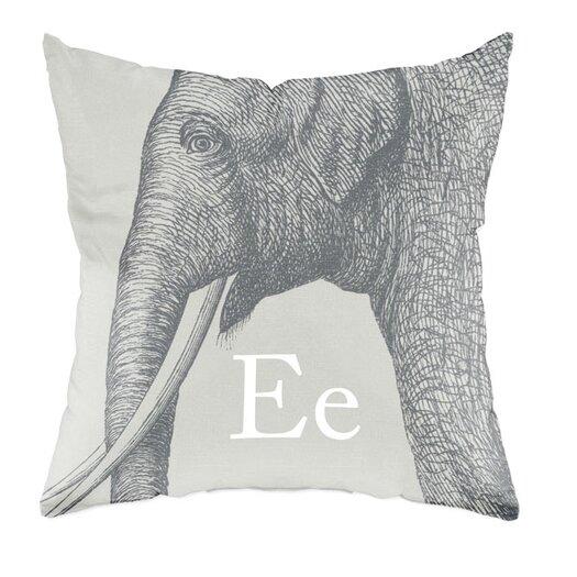 Checkerboard, Ltd Elephant Throw Pillow