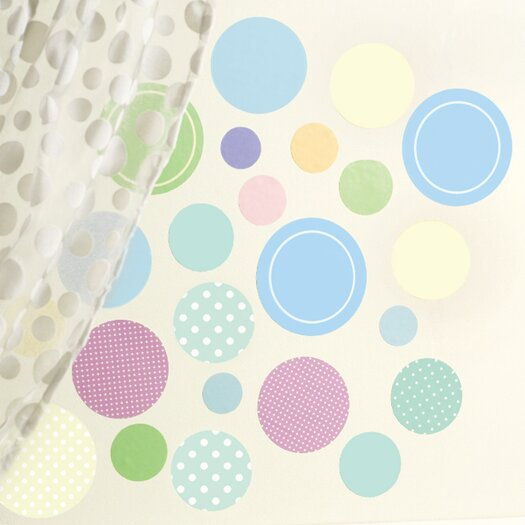 Wallies Baby Dots Wall Decal