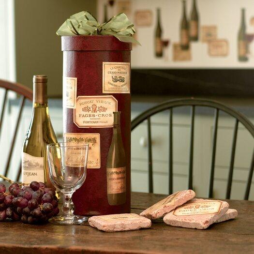 Wallies Wine Tasting Wall Decal