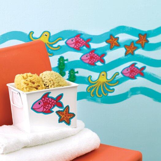 KP Kids Sea Creatures Wall Decal