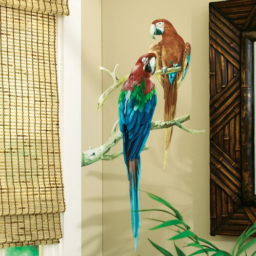 Wallies Parrots Wall Decal