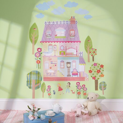 Wallies Play House Interactive Wall Decal
