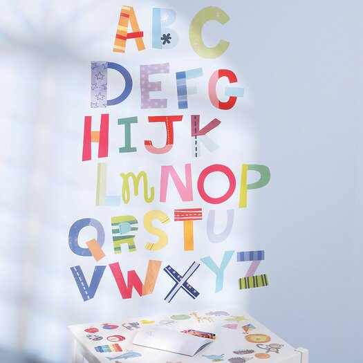 Wallies Alphabet Fun Interactive Wall Decal