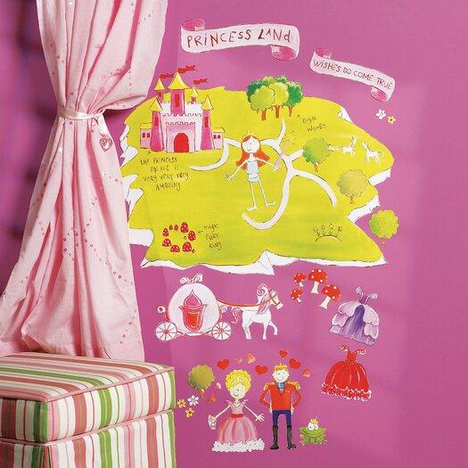 Wallies Princess Land Interactive Wall Decal