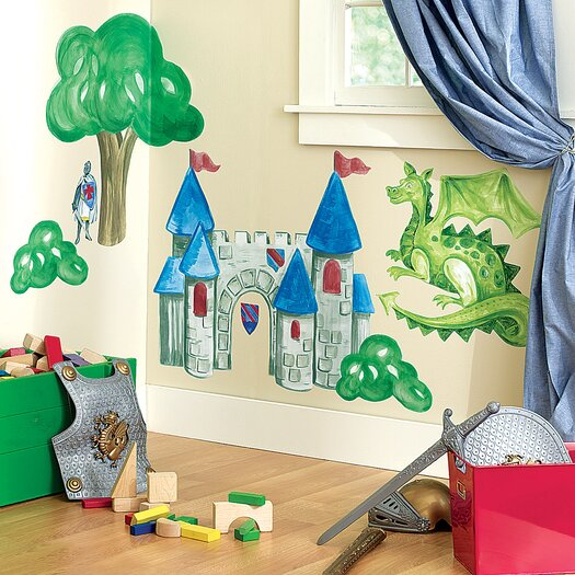 Wallies Medieval Times Wall Decal