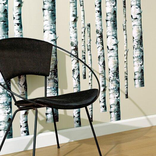 Wallies Birch Trees Wall Decal