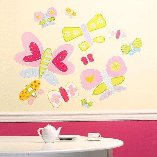 Jenny's Butterflies Wall Decal