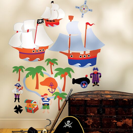 Olive Kids Pirates Wall Decal