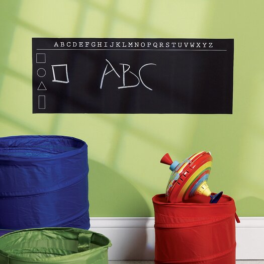 ABC's Chalkboard Wall Decal