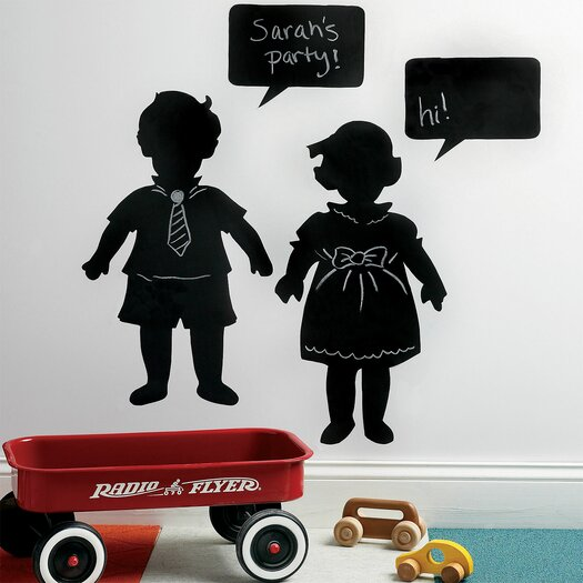 Wallies Vintage Kids Chalkboard Wall Decal