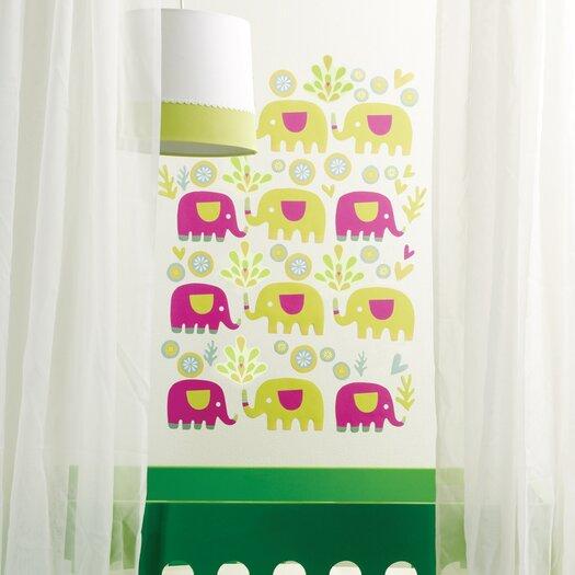 Wallies Elephants Wall Decal