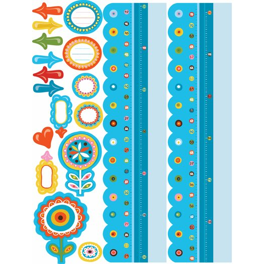 Wall Play Dry Erase Growth Chart