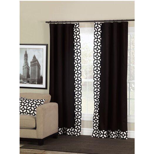 Niche Palmer Rod Pocket Single Curtain Panel