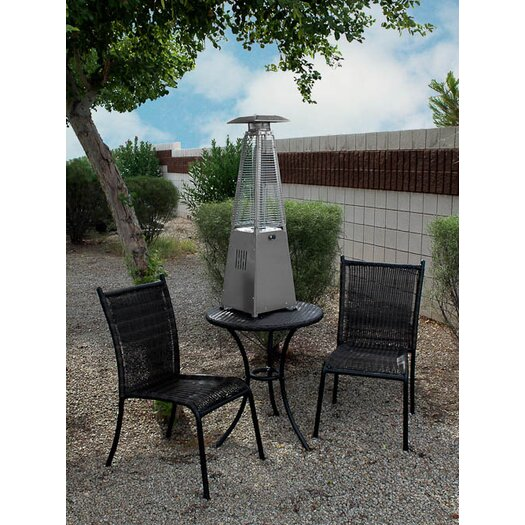 tabletop gas patio heater by az patio heaters