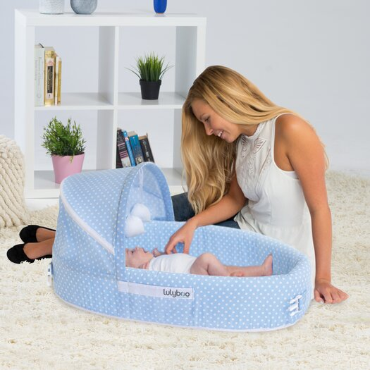 LulyBoo Dots Baby Lounge to go