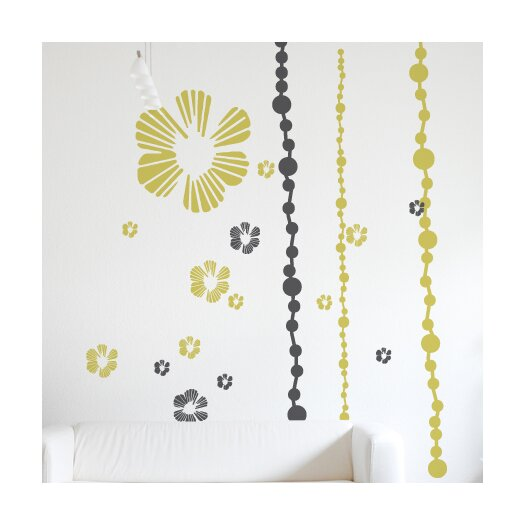 ADZif XXL Tumbling Blooms Wall Decal