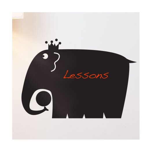 ADZif Memo Elephant Chalkboard Wall Decal