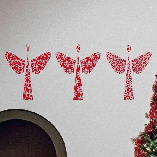 Christmas 2013 Angels Wall Decal