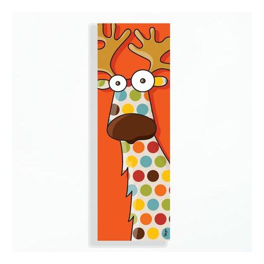 ADZif Canvas Reindeer Wall Mural AllModern