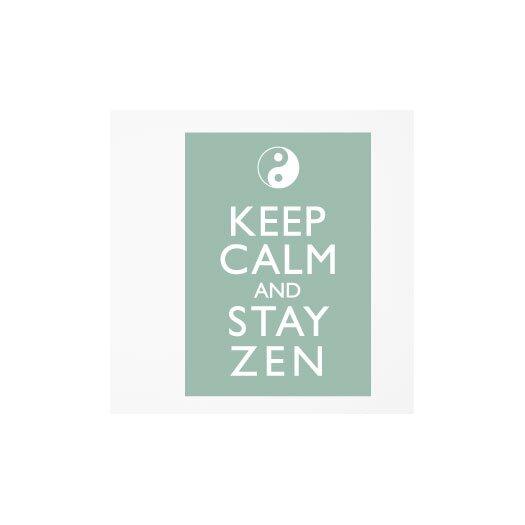 ADZif Blabla Stay Zen Wall Mural