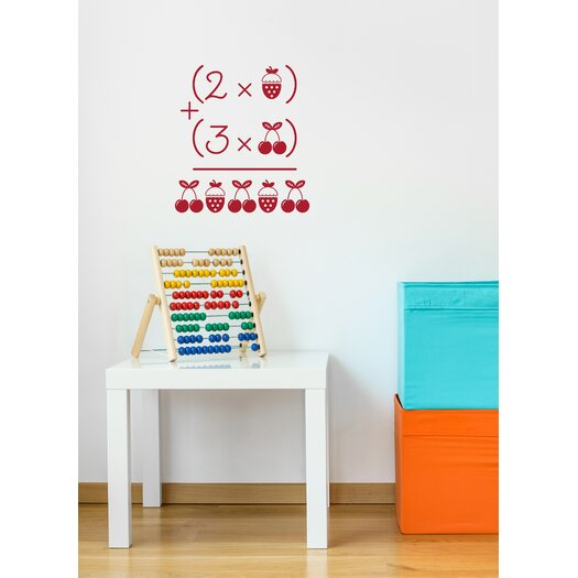 Piccolo Cherries and Strawberries Wall Decal