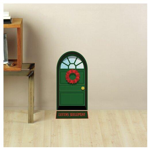 Mia & Co Elven Green Door Wall Decal