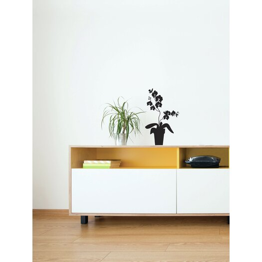 Spot Orchid Wall Decal