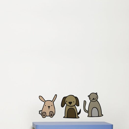 ADZif Piccolo Animates Wall Decal