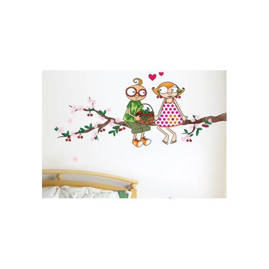 ADZif Ludo Time of the Cherries Wall Decal