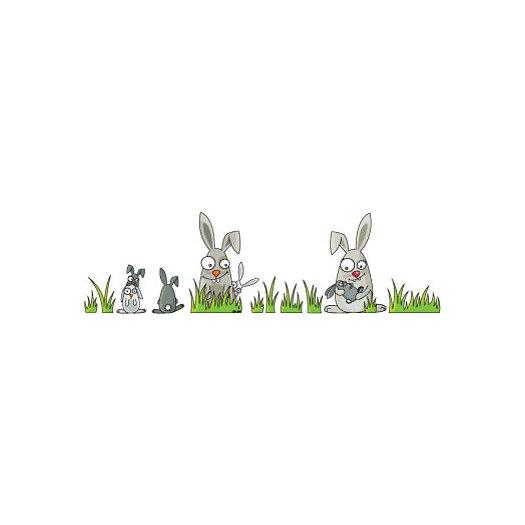 ADZif Ludo Rabbits Wall Decal