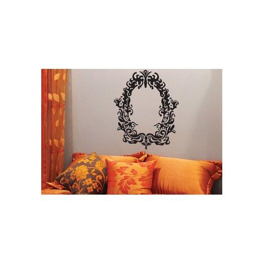 ADZif Spot Eurelice Mirror Wall Decal