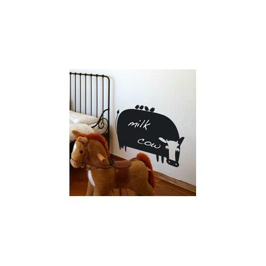 ADZif Memo Cow Chalkboard Wall Decal