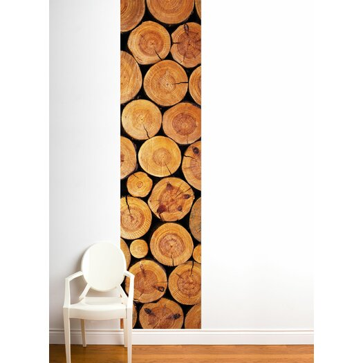 ADZif Unik Log Wall Mural
