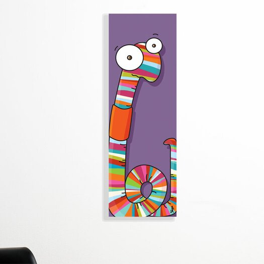 ADZif Canvas Worm Wall Mural