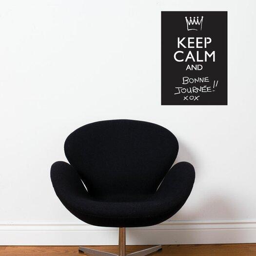 ADZif Memo Keep Calm Chalkboard Wall Decal