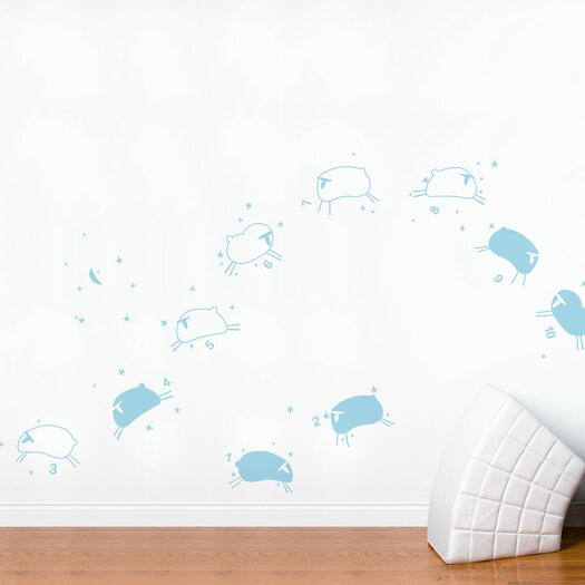 ADZif Piccolo Baby Sheep Wall Decal