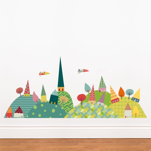 ADZif Piccolo Journey in the Countryside Wall Decal