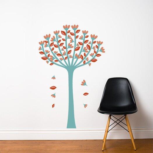 ADZif Spot Spring Tree Wall Decal