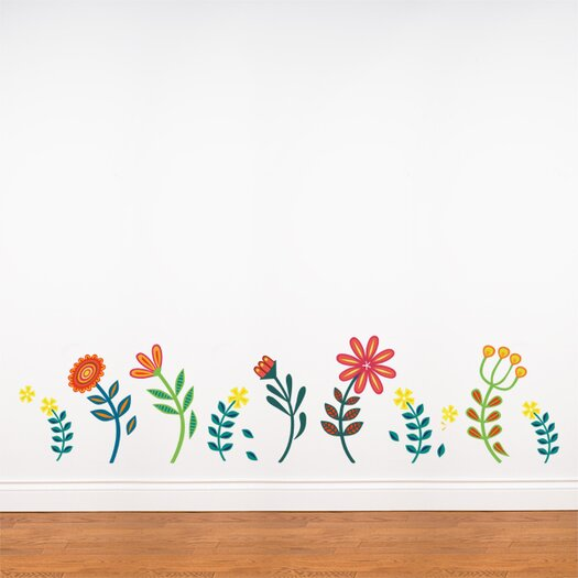 ADZif Spot Blooming Flowers Wall Decal
