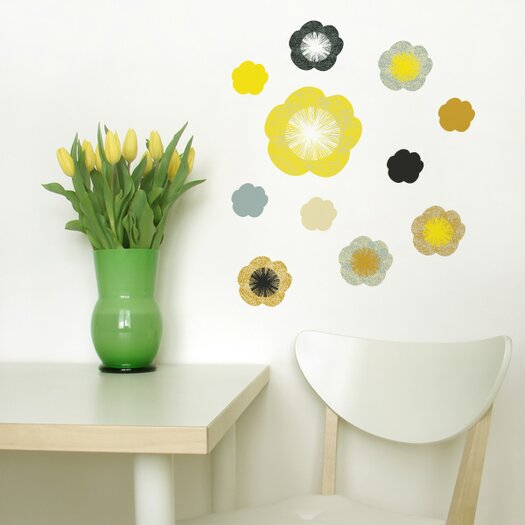 ADZif Spot Little Garden Solstice Flowers Wall Decal